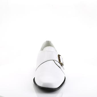 Funtasma Apparel & Accessories > Costumes & Accessories > Costume Shoes > Mens LOAFER-12 Wht Pu