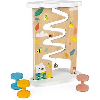 J05153 Pure Spielbahn (Holz), Mehrfarbig