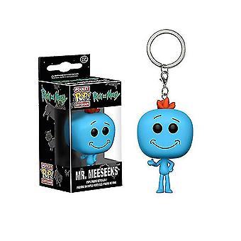 ريك ومورتي بعثة السيد Meeseeks حلقة مفتاح سلسلة المفاتيح