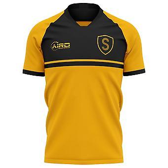 2020-2021 شريف تيراسبول الرئيسية مفهوم قميص كرة القدم