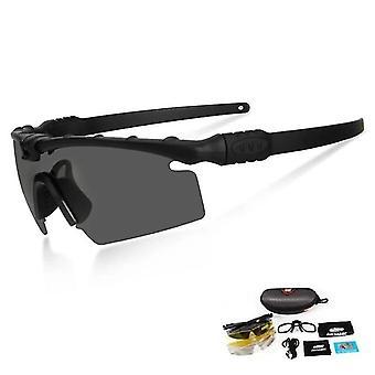 Hd taktische polarisierte Sonnenbrille - Myopie Rahmen