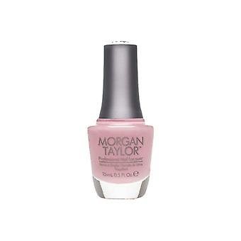 Morgan Taylor Luxe vara en lade nagellack lack mjuk ros Creme 15ml
