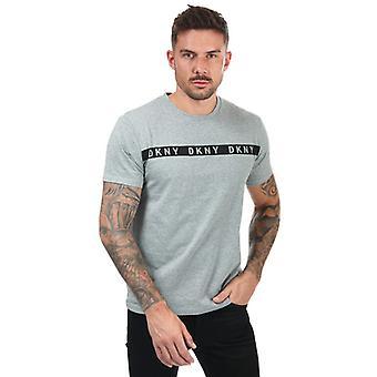 T-shirt DKNY Jaguar homme en gris