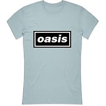 Oasis ladies tee: decca logo