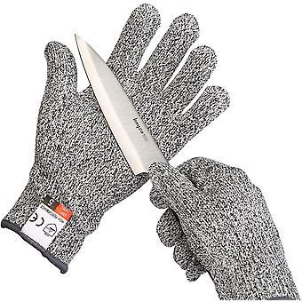 Ein paar Handschuhe, Grad 5 widerstandsfähig, Gartenhandschuhe, Arbeitshandschuhe, Kinderschutzhandschuhe --- Xxs