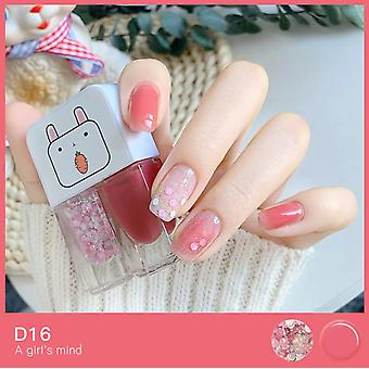 Non toxique Twins Vernis à ongles Set Easy Peel Off Quick Dry
