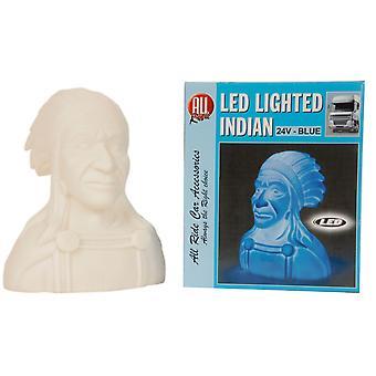 24V indischen blaues LED-Licht Auto LKW Lastwagen Dashboard dekorative Beleuchtung