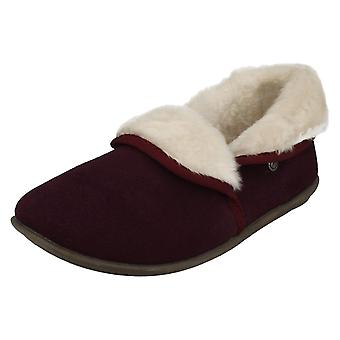 Ladies Freestep House Slippers Birch