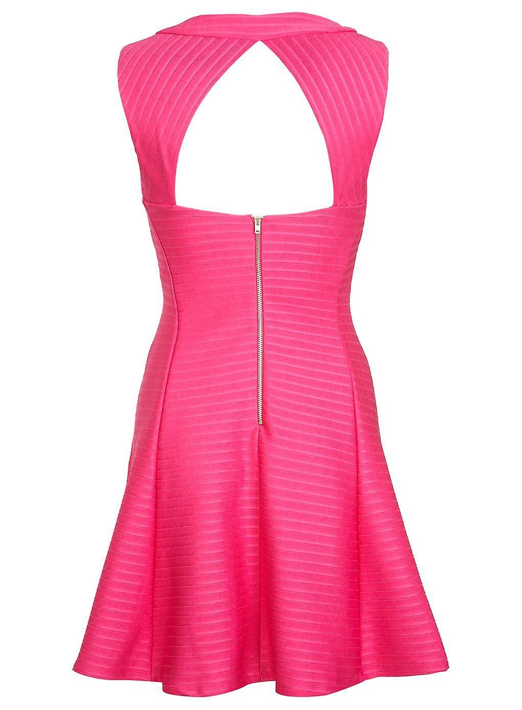 Miss Selfridge Bandage Rib Skater Dress SIZE 16'S ONLY!