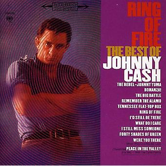 Johnny Cash - Ring Of Fire-Best of [CD] USA import