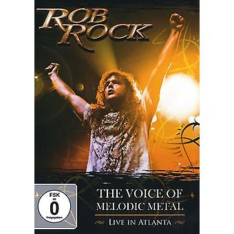 Rob Rock - Voice of Melodic Metal: Live in Atlanta [DVD] USA import