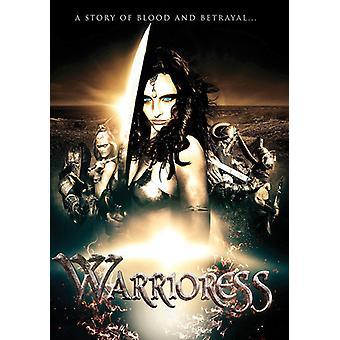 Warrioress [DVD] USA import