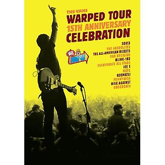 Warped Tour 15th Anniversary Celebration [DVD] USA import