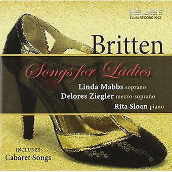 Britten - kappaleita hyvät [CD] Yhdysvallat tuontia varten