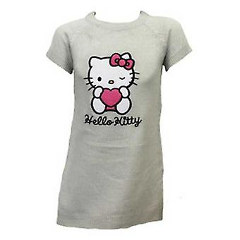 Girls Hello Kitty Knitted Dress