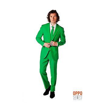 Evergreen green suit Mister green Opposuit slimline Premium 3-piece EU SIZES