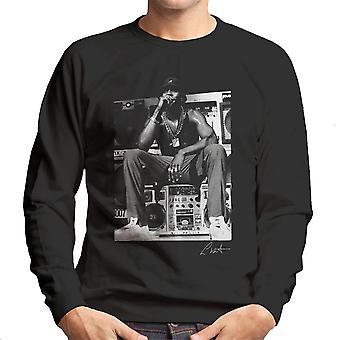 LL Cool J Performing 1980s Men's Sweatshirt