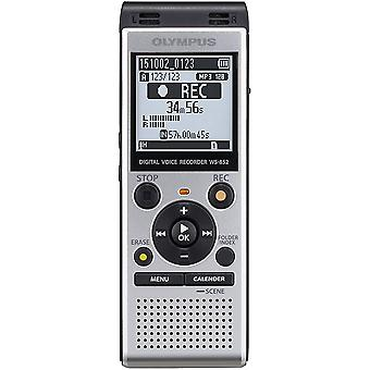 Olympus Digital Voice Recorder 4GB with Built-in USB plus Micro SD Slot - Silver