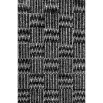Tæpper - skak - trækul