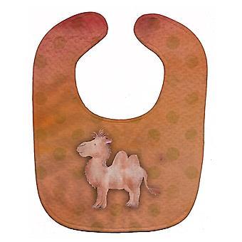 Carolines trésors BB7393BIB Polkadot Camel aquarelle Baby Bib