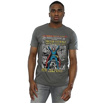 Marvel Men's Doctor Strange Comic Cover T-Shirt