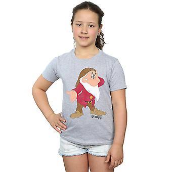 डिज्नी लड़कियों स्नो व्हाइट और सात Dwarves क्लासिक क्रोधी टी शर्ट