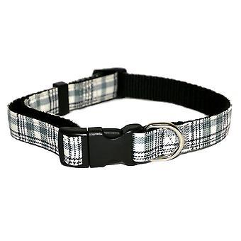 Rosewood Wag N Walk Check Nylon Dog Collar