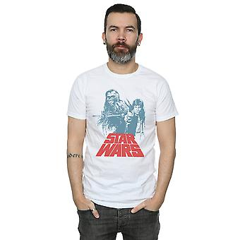 Star Wars miesten Han Solo, Chewie duetto t-paita