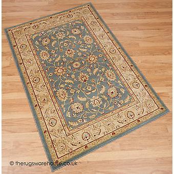 Raya blauw tapijt