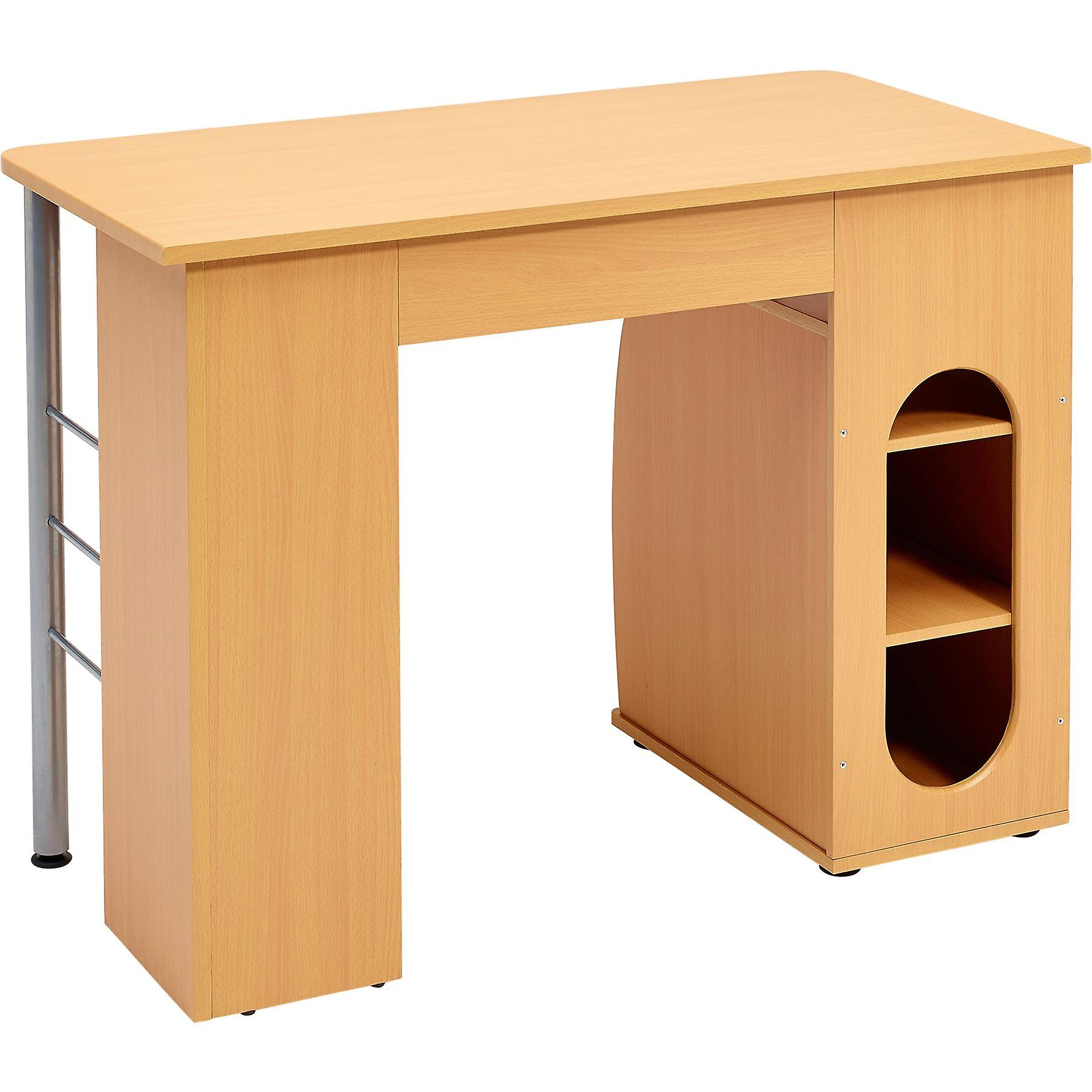 Elver Desk Beech PC1b