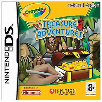 Crayola Treasure Adventures (Nintendo DS)-ny