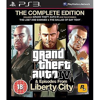Grand Theft Auto IV Complete Edition (PS3) - Nowość