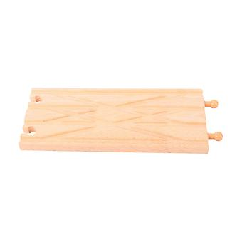 Bigjigs Rail Wooden Diamond Crossover Train Track Expansion Railway Set