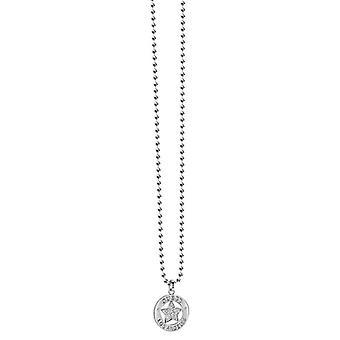 Guess Damen Kette Halskette Edelstahl silber UBN21605