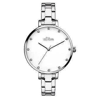 s.Oliver women's watch wristwatch stainless steel SO-3457-MQ