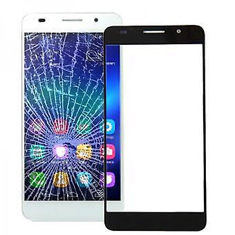Wyświetlacz szkło czarny dla Huawei honor 6