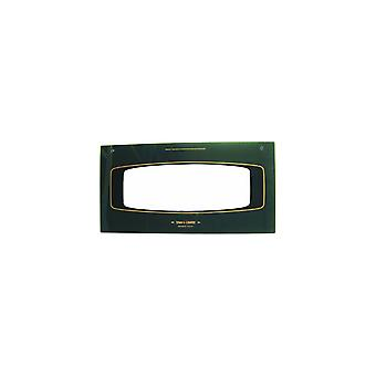 Electrolux Grill Oven Outer Door Glass w/ Green Detail