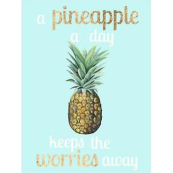 Pineapple Life I Poster Print by Studio W (13 x 19)