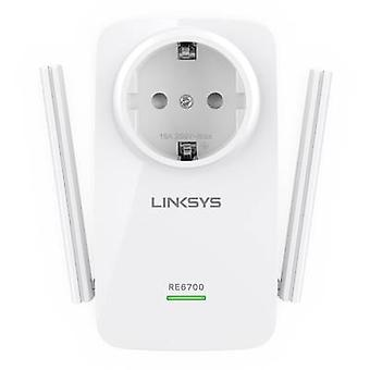 Linksys RE6700-f. eks Wi-Fi repeater 1,2 Gbps 2,4 GHz, 5 GHz