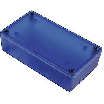 Hammond elettronica 1591XXGTBU Custodia universale 121 x 94 x 34 acrilonitrile-butadiene-stirene blu 1 (trasparente) / PC
