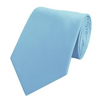 Slips tie ties binder 8cm light blue uni Fabio Farini