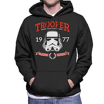 Original Stormtrooper Blaster skola Mäns Hooded Sweatshirt