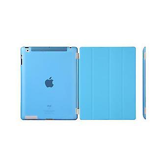 Custodia/Copertina iPad (2017)/iPad Air - guscio in plastica dura blu