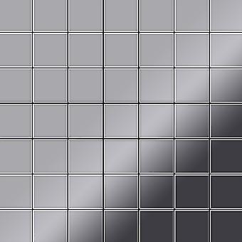 Metal mosaic Stainless Steel ALLOY Attica-S-S-MM