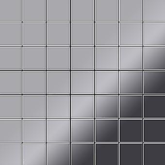 Metall mosaik rostfritt stål legering Attica-S-S-MM