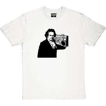 Camiseta de Beethoven Ghetto Blaster los hombres