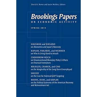 Brookings Papers on Economic Activity - Frühling 2014 David H. Romer