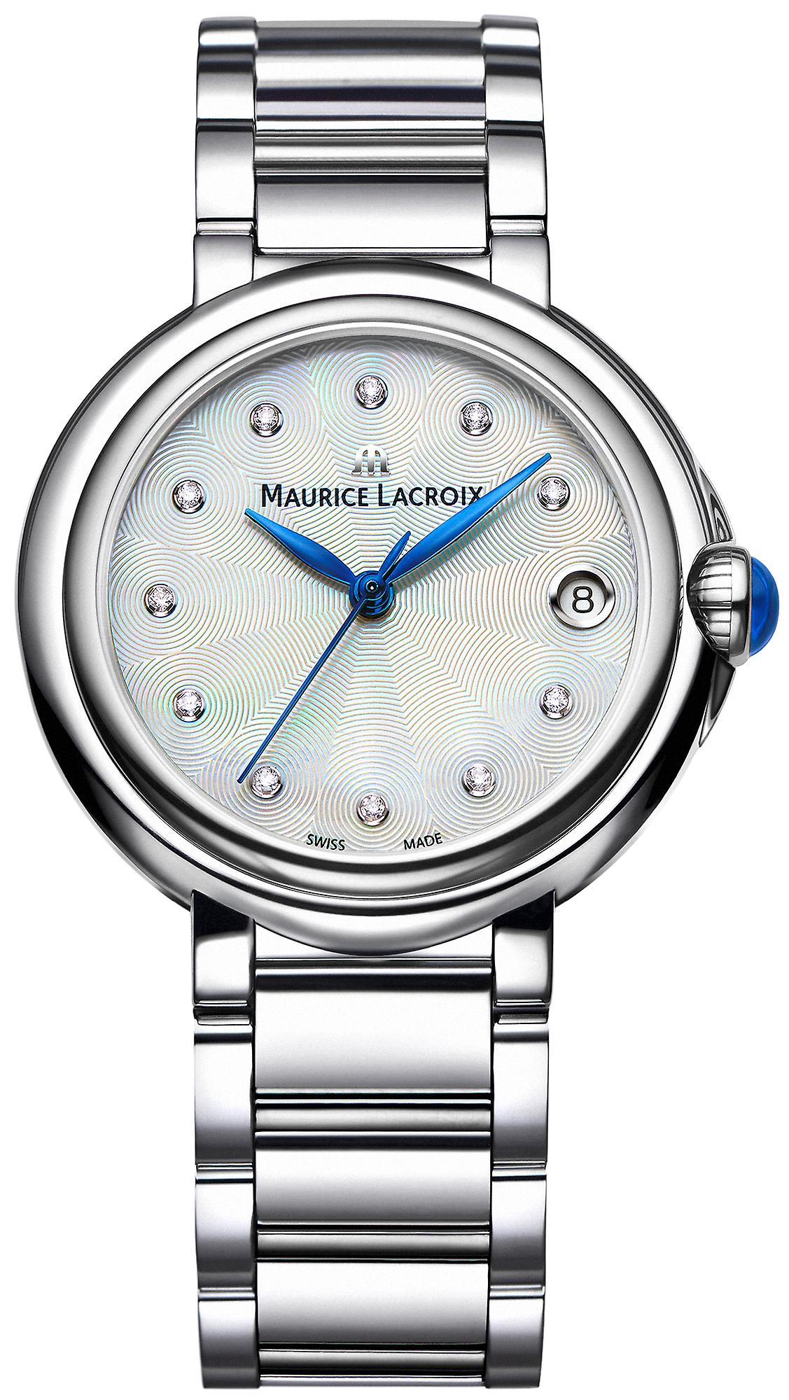 Maurice Lacroix Fiaba Stainless Steel Diamond Index Ladies Watch