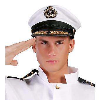 Mens capitano cappello costume accessorio