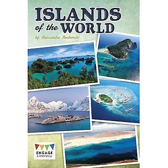 Eilanden van de wereld (gaan alfabetisering: geletterdheid Brown gaan)